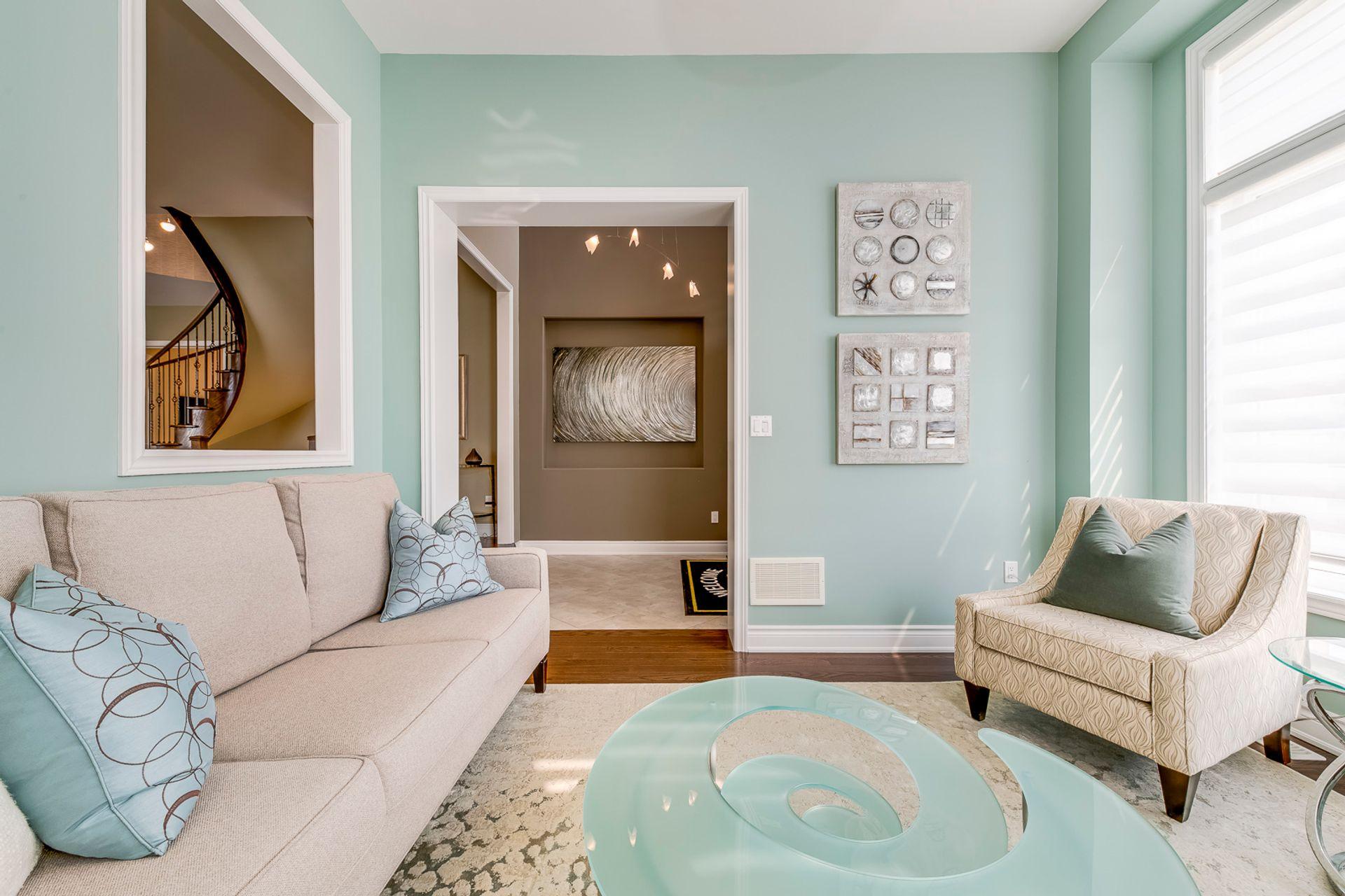 Living Room- 2412 Sylvia Dr. Oakville- Elite3 & Team at 2412 Sylvia Drive, Iroquois Ridge North, Oakville