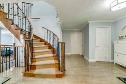 Staircase- 549 Golden Oak Drive Oakville- Elite3 & Team at 549 Golden Oak Drive, Iroquois Ridge North, Oakville