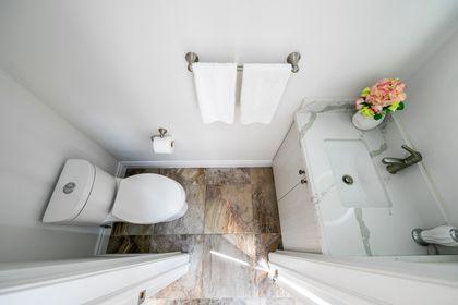 Bathroom- 308 Morrison Rd.- Elite3 & Team at 308 Morrison Road, Eastlake, Oakville