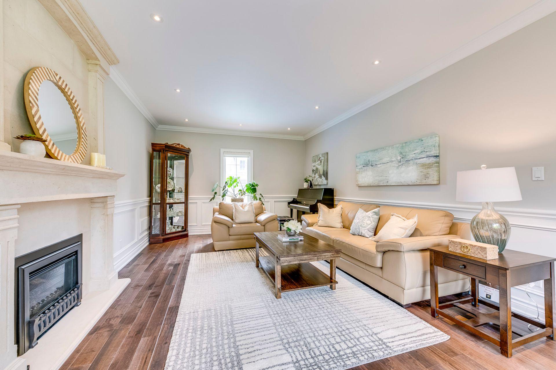 Living Room- 308 Morrison Rd.- Elite3 & Team at 308 Morrison Road, Eastlake, Oakville