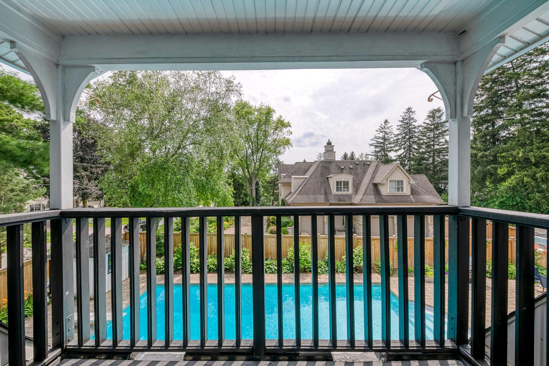 Primary Bedroom Balcony- 308 Morrison Rd.- Elite3 & Team at 308 Morrison Road, Eastlake, Oakville