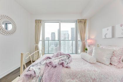 Bedroom- #3108-125 Redpath Ave. Toronto- Elite3 & Team at 3108 - 125 Redpath Avenue, Mount Pleasant East, Toronto