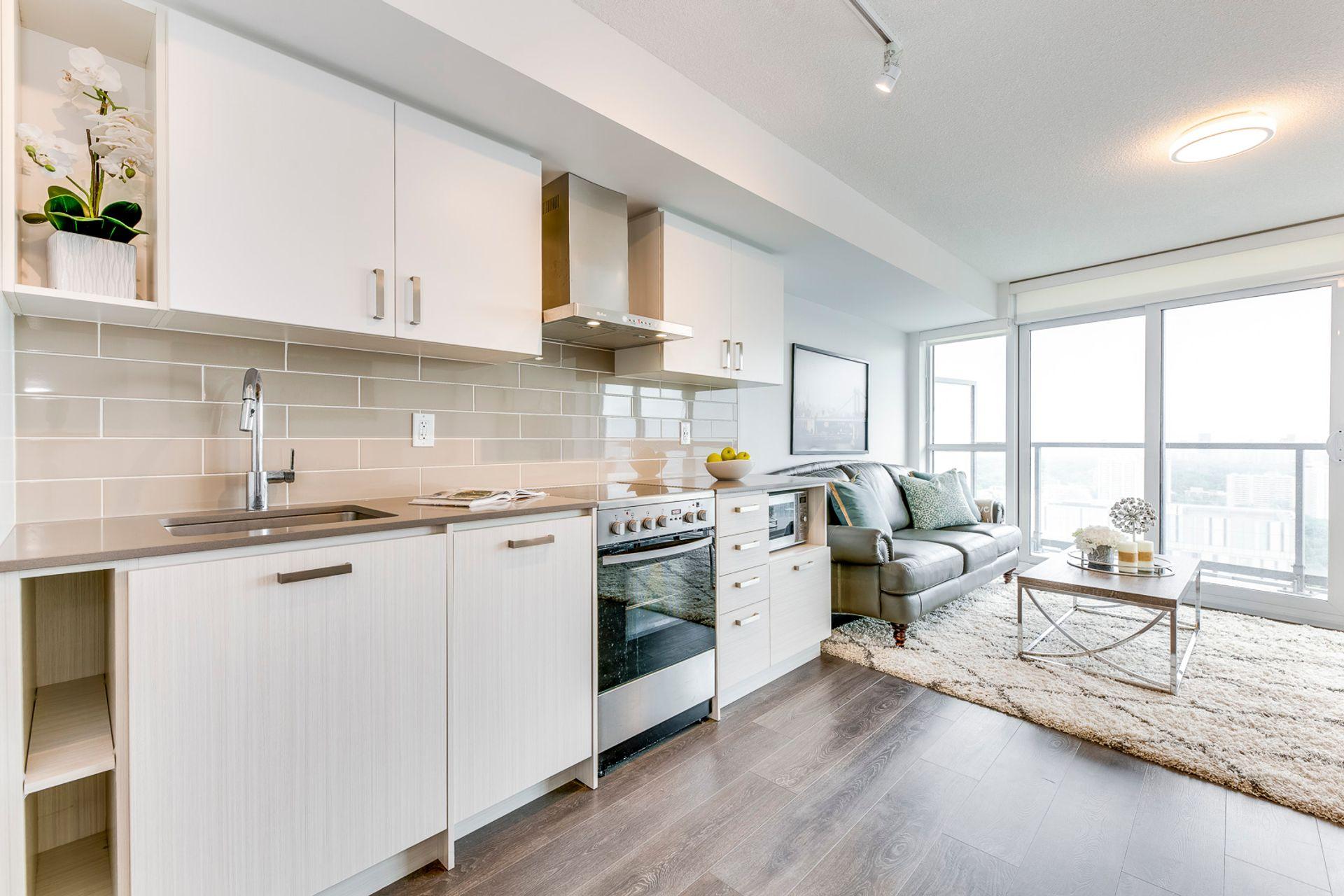 Kitchen- #3108-125 Redpath Ave. Toronto- Elite3 & Team at 3108 - 125 Redpath Avenue, Mount Pleasant East, Toronto