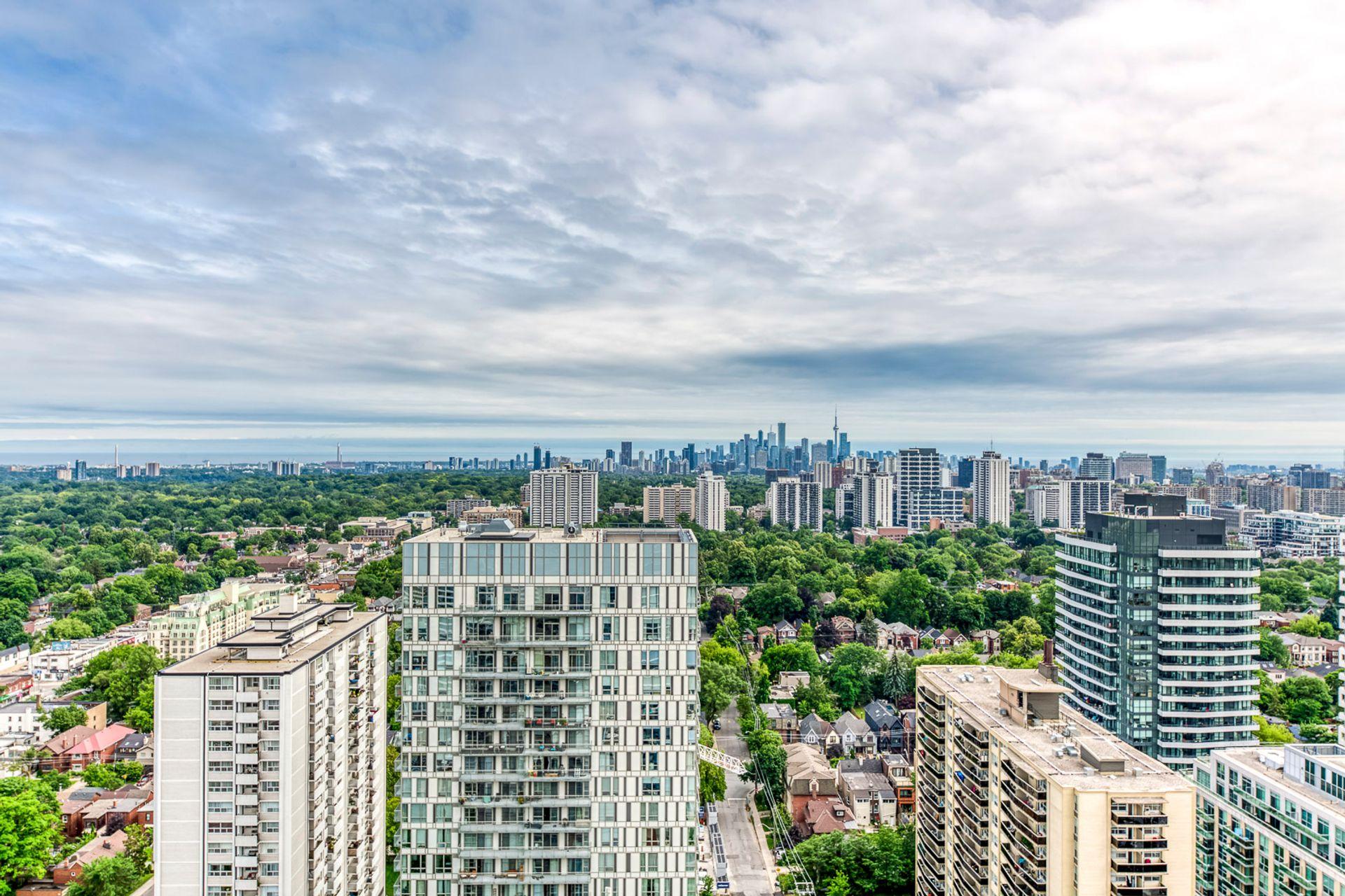 Balcony- #3108-125 Redpath Ave. Toronto- Elite3 & Team at 3108 - 125 Redpath Avenue, Mount Pleasant East, Toronto