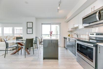 Kitchen/Dining/Living- #1007- 1255 Bayly St. Pickering- Elite3 & Team at 1007 - 1255 Bayly Street, Bay Ridges, Pickering