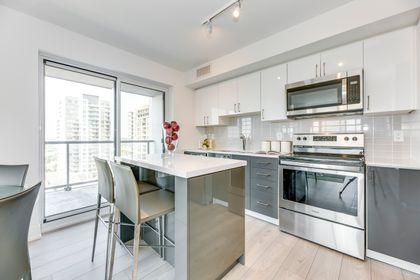 Kitchen- #1007- 1255 Bayly St. Pickering- Elite3 & Team at 1007 - 1255 Bayly Street, Bay Ridges, Pickering