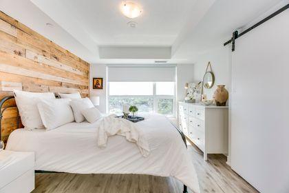 Master Bedroom- #1007- 1255 Bayly St. Pickering- Elite3 & Team at 1007 - 1255 Bayly Street, Bay Ridges, Pickering