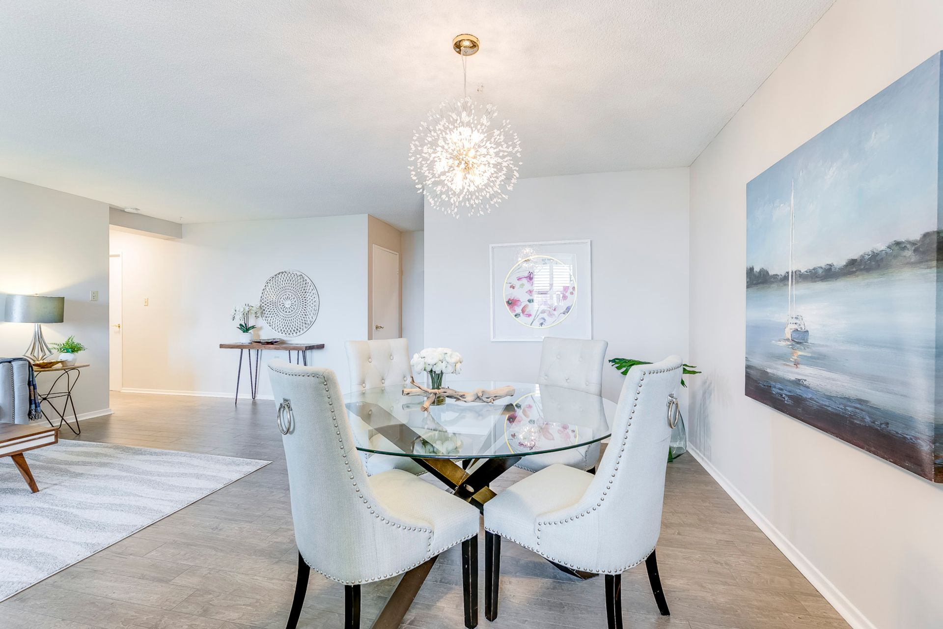 Dining Room- #812- 18 Knightsbridge Rd. Brampton- Elite3 & Team at 812 - 18 Knightsbridge Road, Queen Street Corridor, Brampton