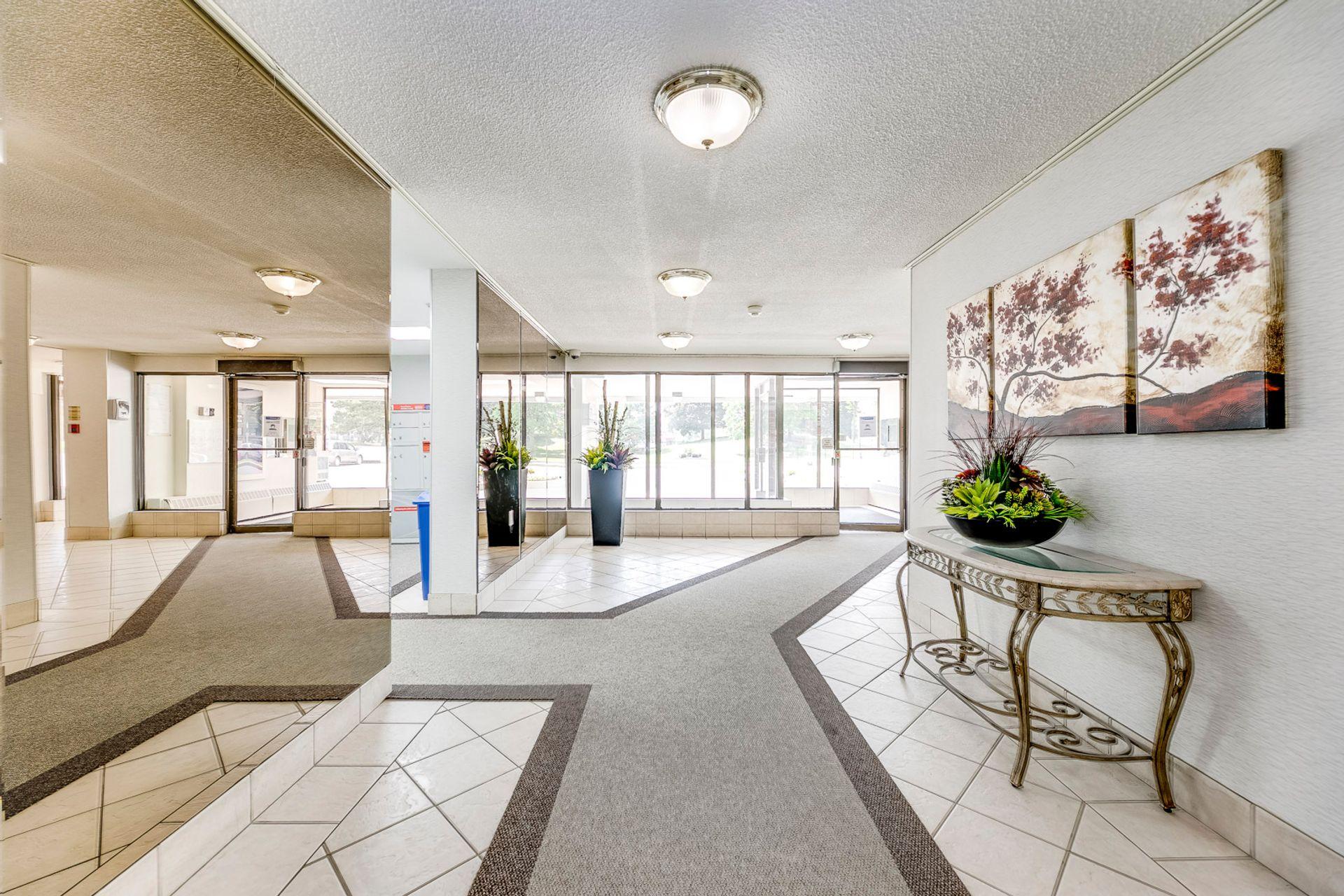 Lobby- #812- 18 Knightsbridge Rd. Brampton- Elite3 & Team at 812 - 18 Knightsbridge Road, Queen Street Corridor, Brampton