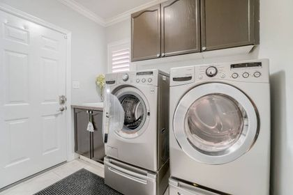 Laundry Room- 2455 Bon Echo Dr. Oakville- Elite3 & Team at 2455 Bon Echo Drive, Iroquois Ridge North, Oakville