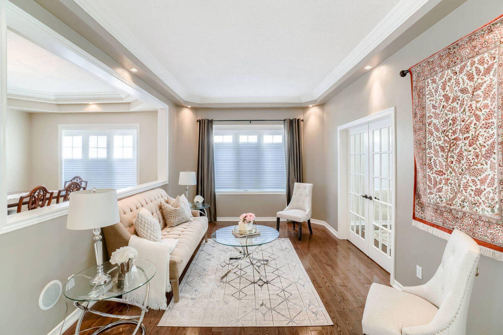 Living Room- 2455 Bon Echo Dr. Oakville- Elite3 & Team at 2455 Bon Echo Drive, Iroquois Ridge North, Oakville