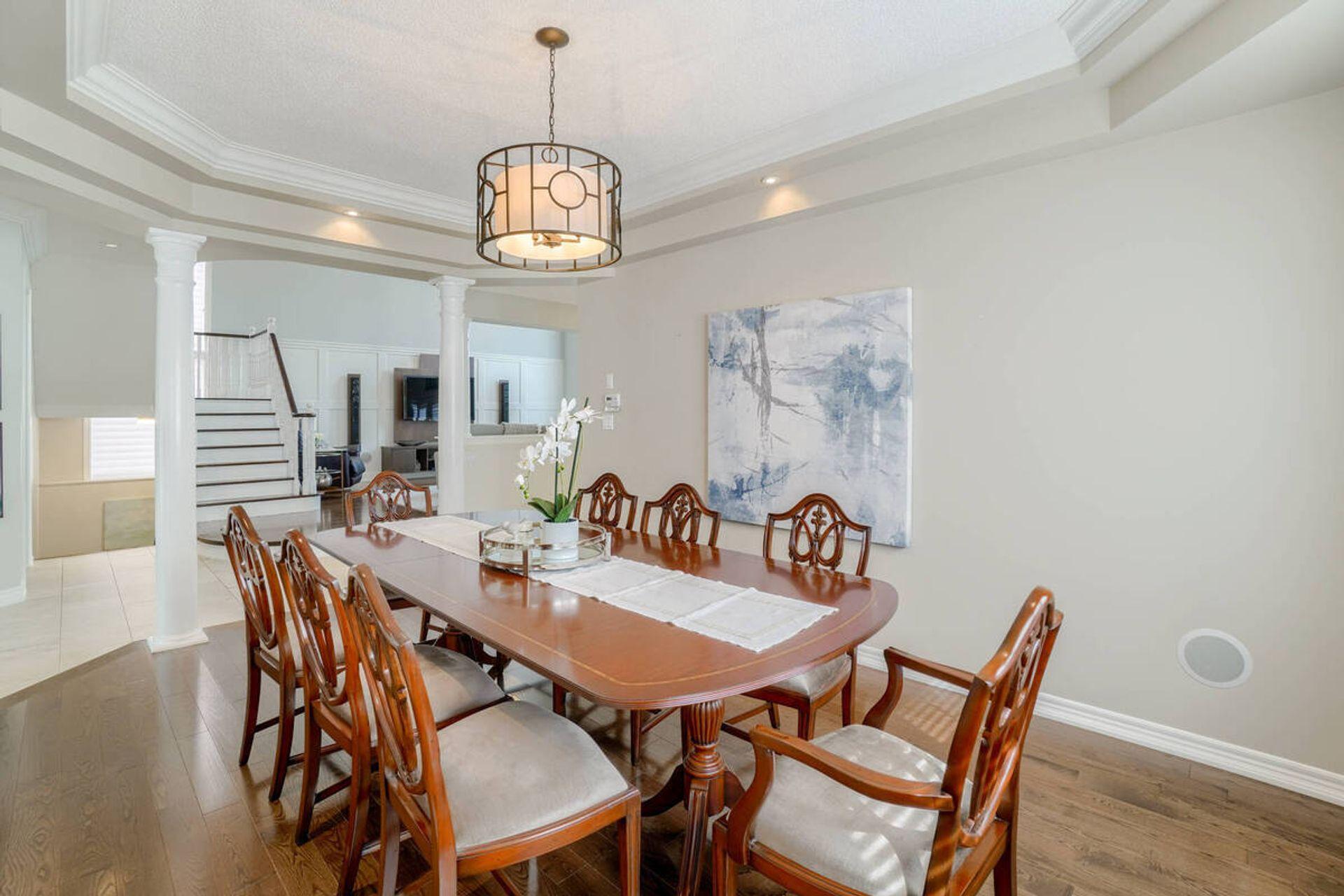 Dining Room- 2455 Bon Echo Dr. Oakville- Elite3 & Team at 2455 Bon Echo Drive, Iroquois Ridge North, Oakville