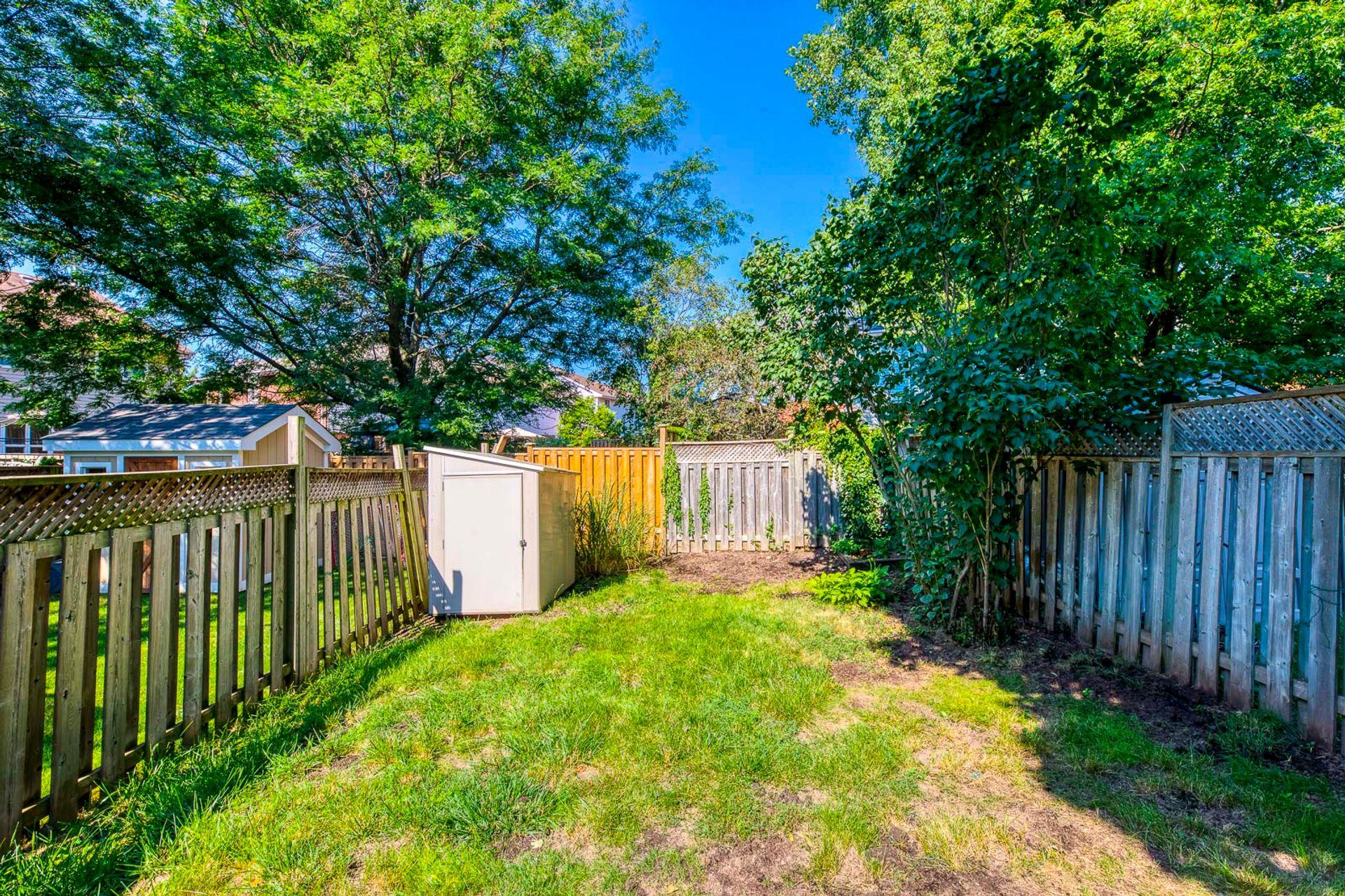 Backyard - 2416 Stefi Tr, Oakville - Elite3 & Team at 2416 Stefi Trail, River Oaks, Oakville