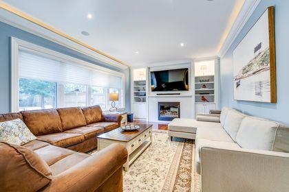 Living Room- 1531 Narva Rd. Mississauga- Elite3 & Team at 1531 Narva Road, Lorne Park, Mississauga