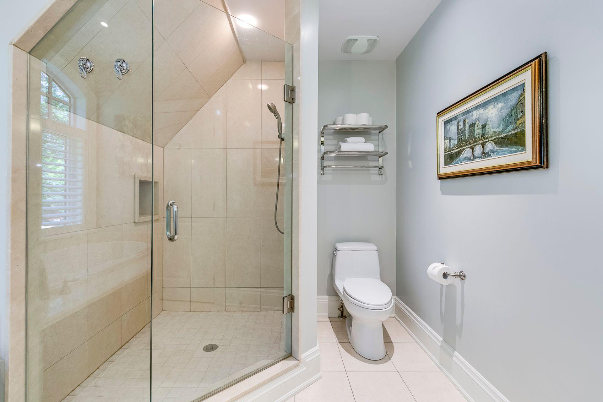 Primary Bathroom- 1531 Narva Rd. Mississauga- Elite3 & Team at 1531 Narva Road, Lorne Park, Mississauga