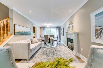 Living Room- 2185 Highriver Crt. Mississauga- Elite3 & Team at 2185 Highriver Court, Sheridan, Mississauga