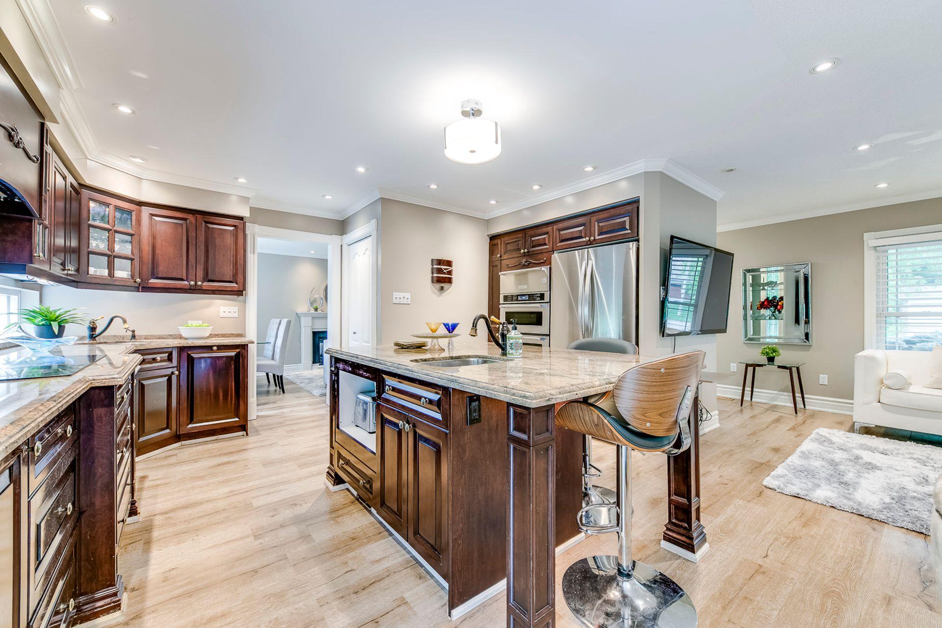 Kitchen- 2185 Highriver Crt. Mississauga- Elite3 & Team at 2185 Highriver Court, Sheridan, Mississauga