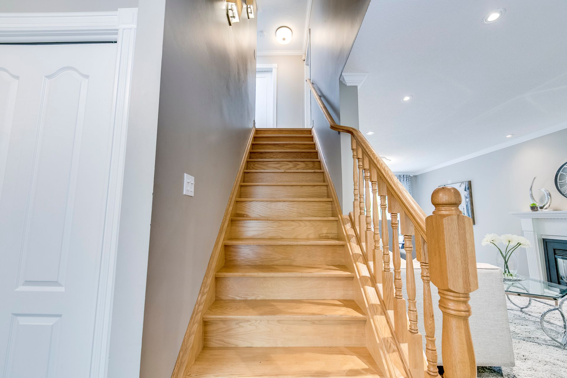 Staircase- 2185 Highriver Crt. Mississauga- Elite3 & Team at 2185 Highriver Court, Sheridan, Mississauga
