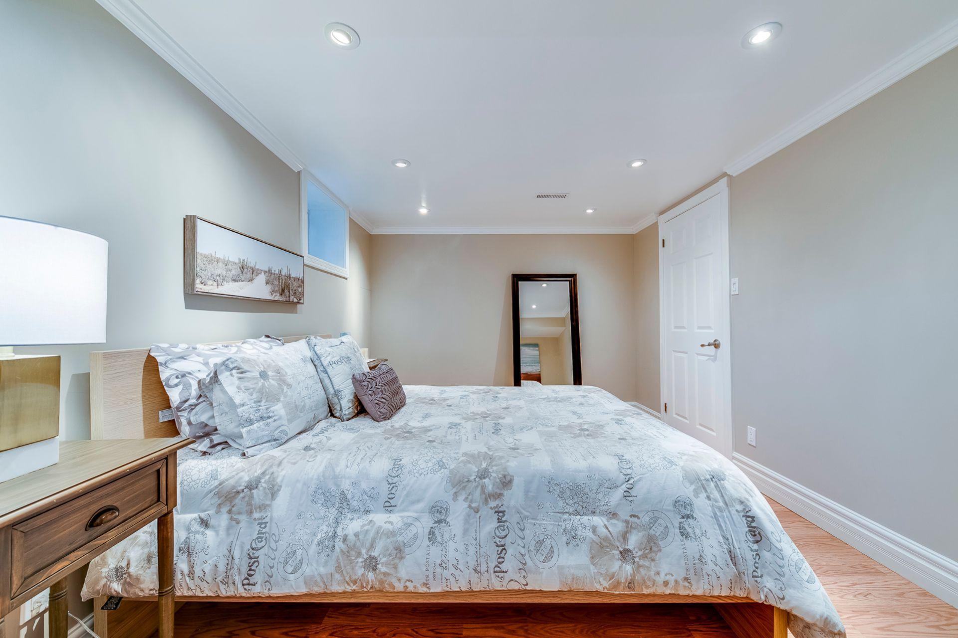 Basement Bedroom- 2185 Highriver Crt. Mississauga- Elite3 & Team at 2185 Highriver Court, Sheridan, Mississauga