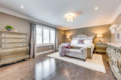 Master Bedroom- 2428 Bluestream Dr. Oakville- Elite3 & Team at 2428 Blue Stream Drive, Iroquois Ridge North, Oakville