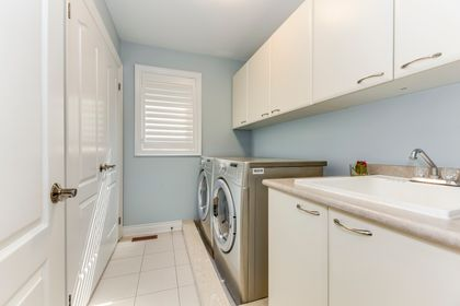 Laundry- 2428 Bluestream Dr. Oakville- Elite3 & Team at 2428 Blue Stream Drive, Iroquois Ridge North, Oakville