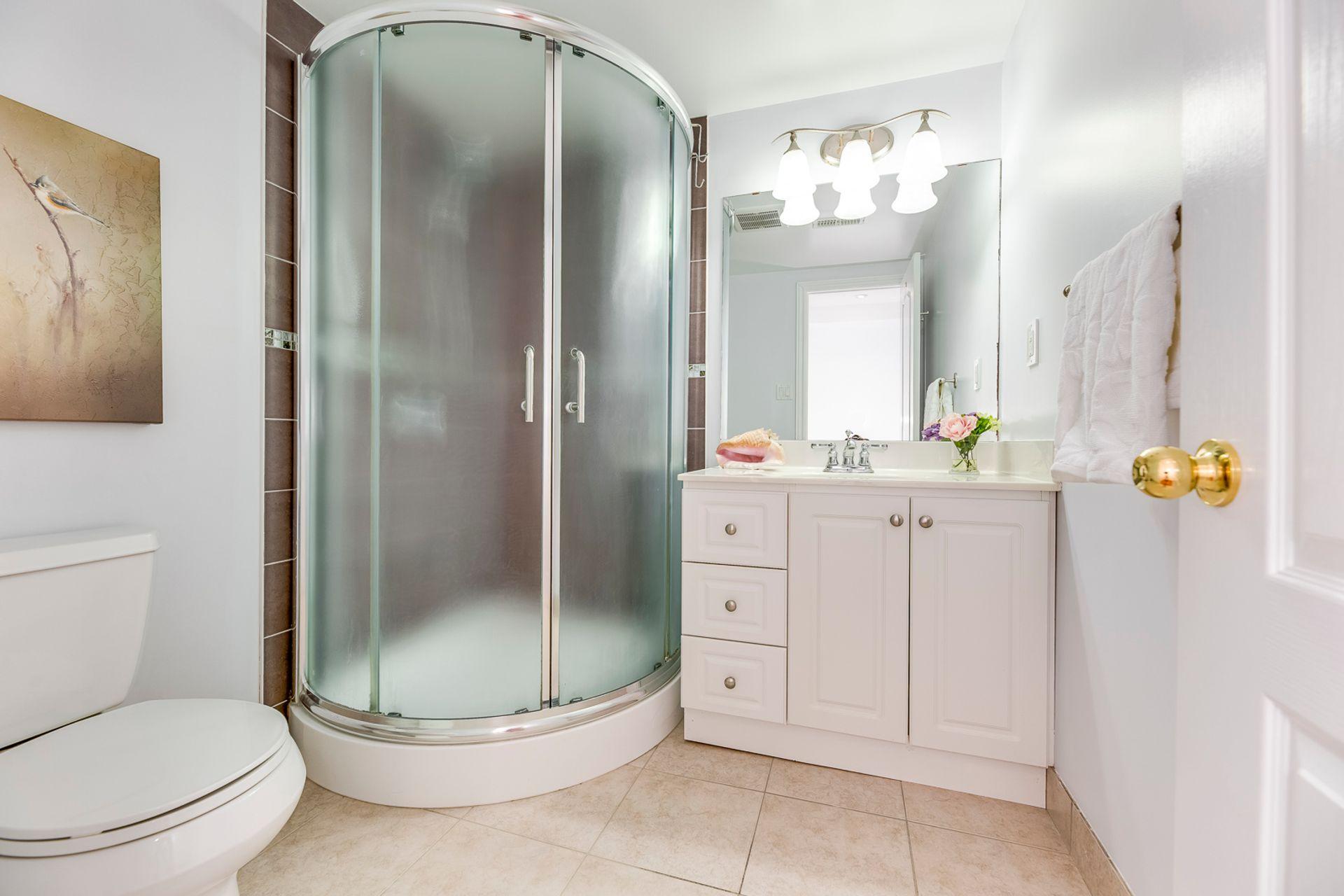 Basement Bathroom - 200 Lexington Rd, Oakville - Elite3 & Team at 200 Lexington Road, River Oaks, Oakville
