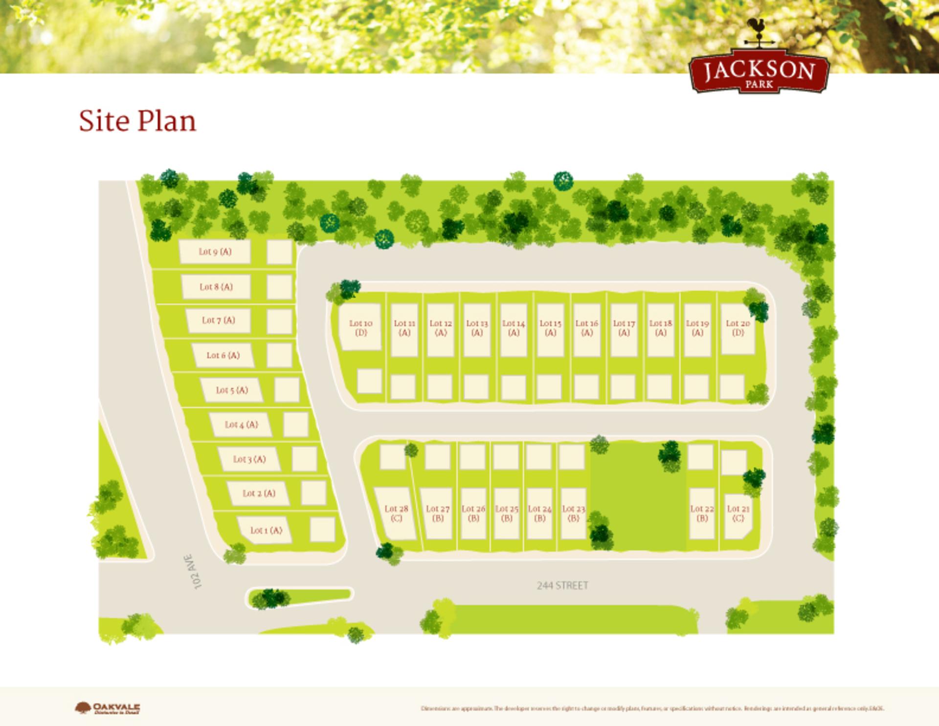 jp_siteplan at 10152 244th Street, Albion, Maple Ridge