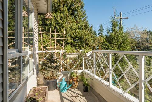 balcony at 411 - 9979 140th Street, Surrey