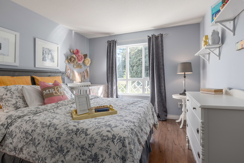 bedroom-1 at 411 - 9979 140th Street, Surrey