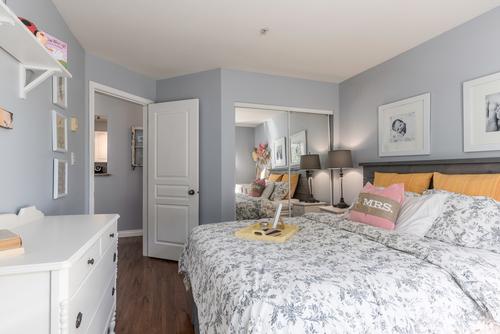 bedroom at 411 - 9979 140th Street, Surrey