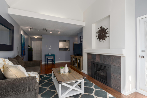 living-2 at 411 - 9979 140th Street, Surrey