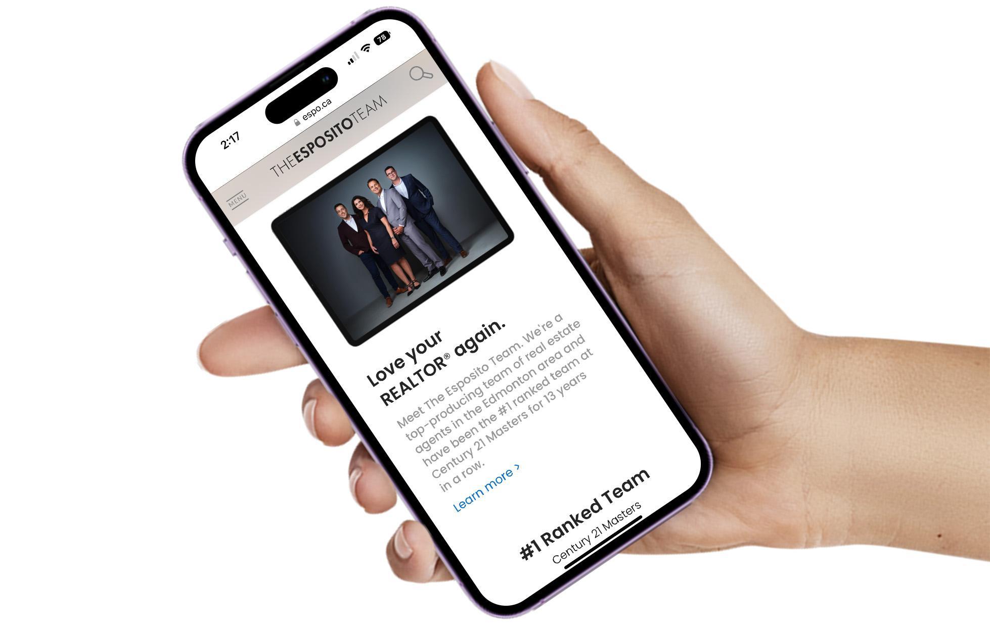 Edmonton local area map on googlemaps.com
