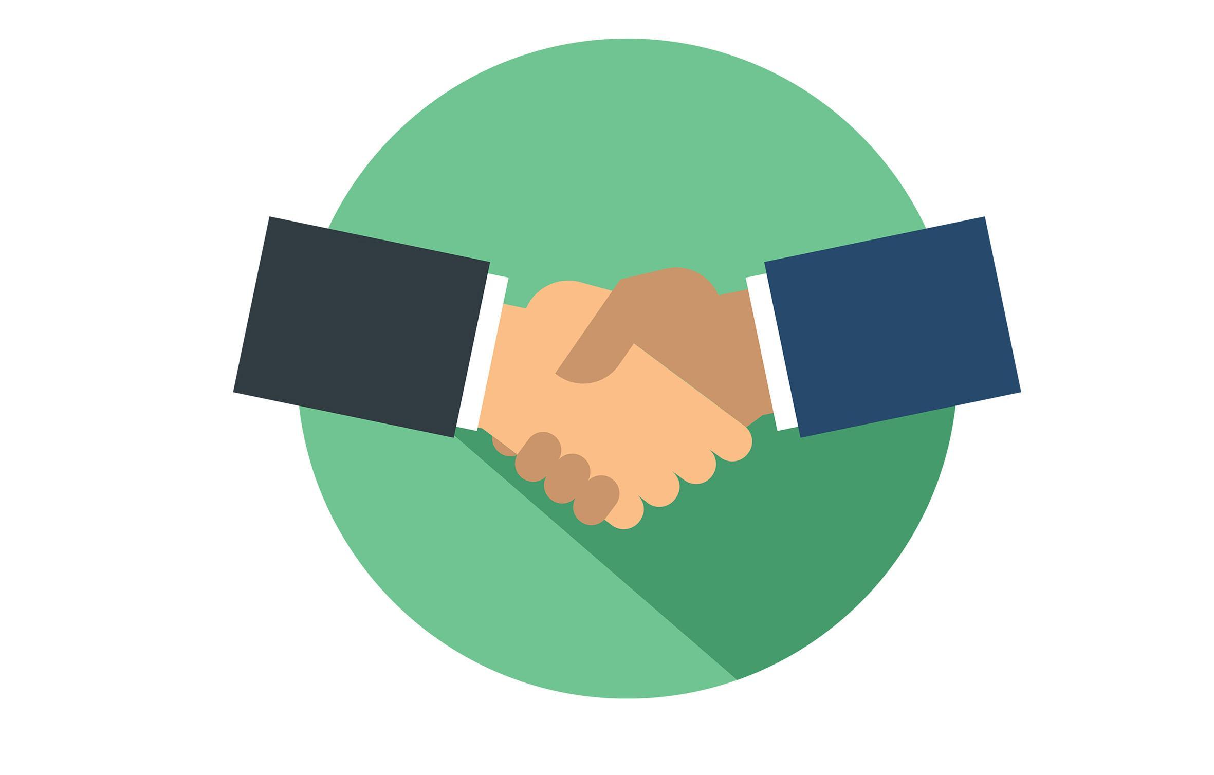 Handshake when negotiating