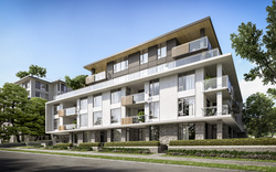 3-exterior-east-building at 375 W 59th Avenue, Vancouver West