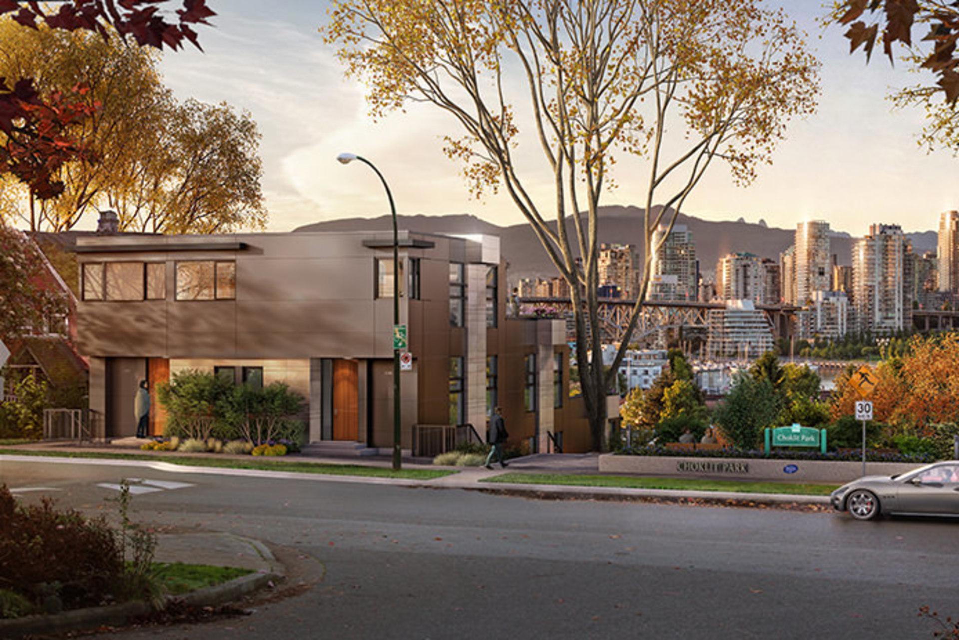 Choklit-park-terraces at 1107 W 7th Avenue, Fairview VW, Vancouver West