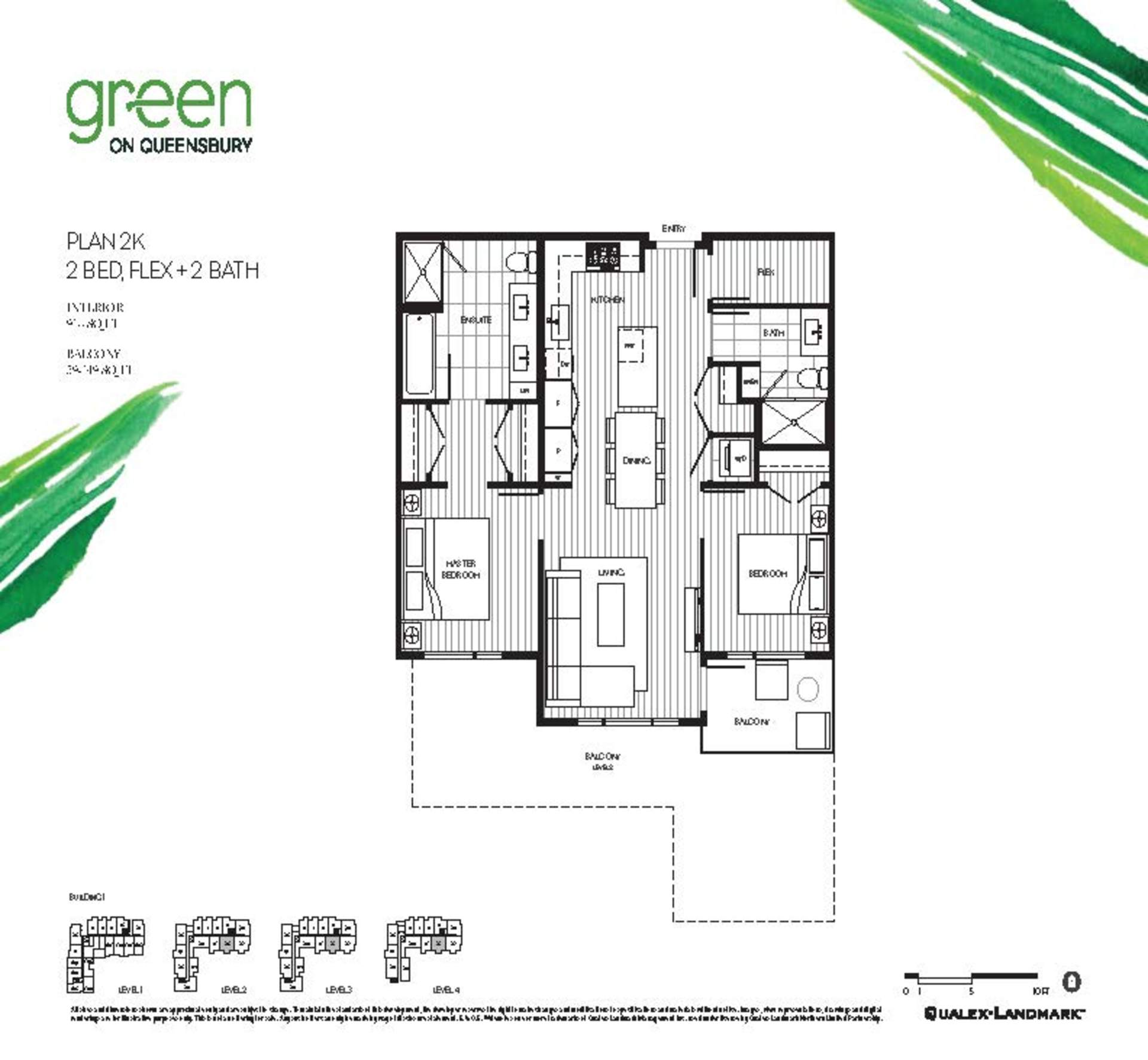 green-on-queensbury-407-plan-2k at 407 - 707 E 3rd Street, Queensbury, North Vancouver