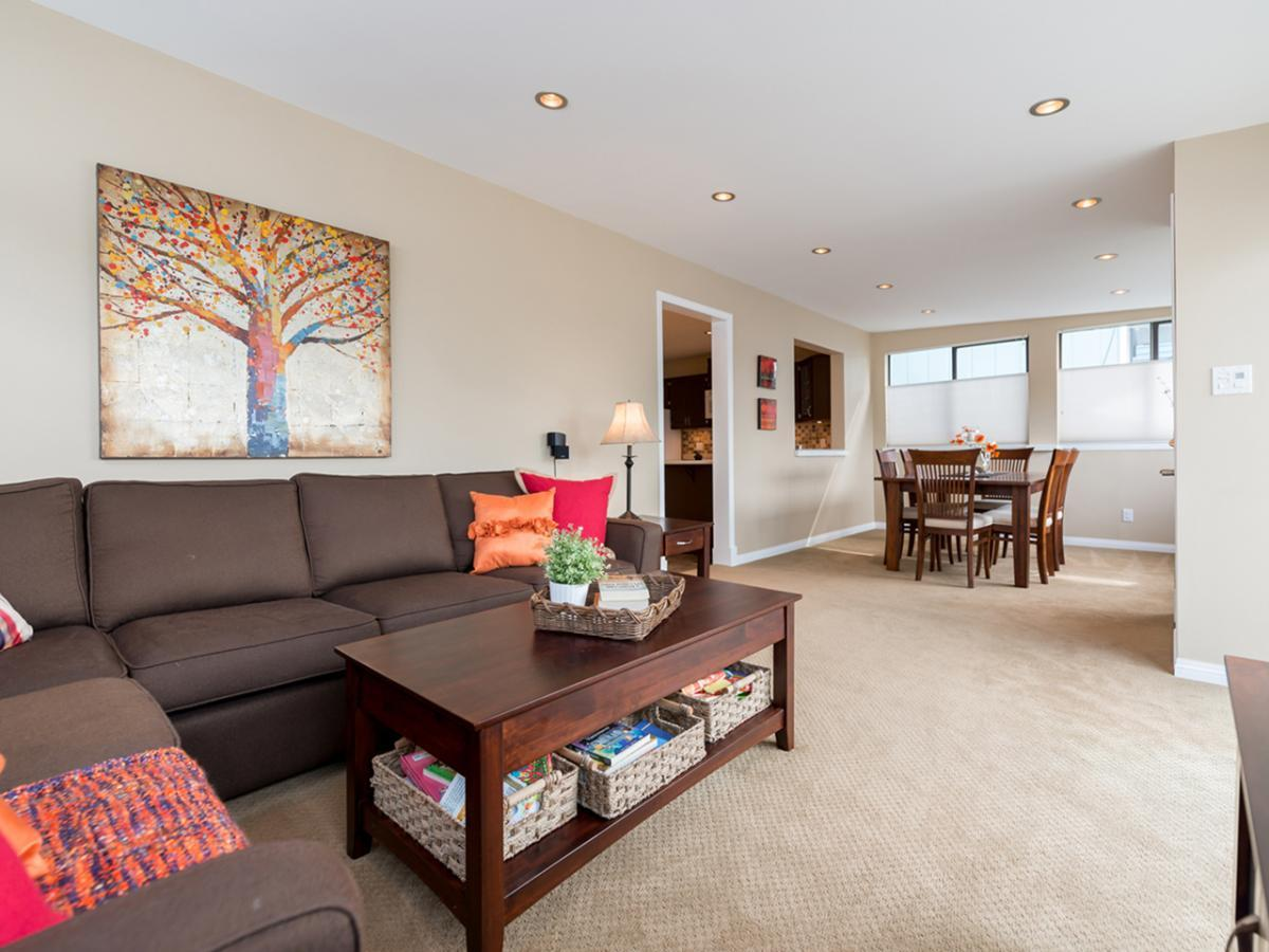 Family Room at 233 East 28th Street, Upper Lonsdale, North Vancouver