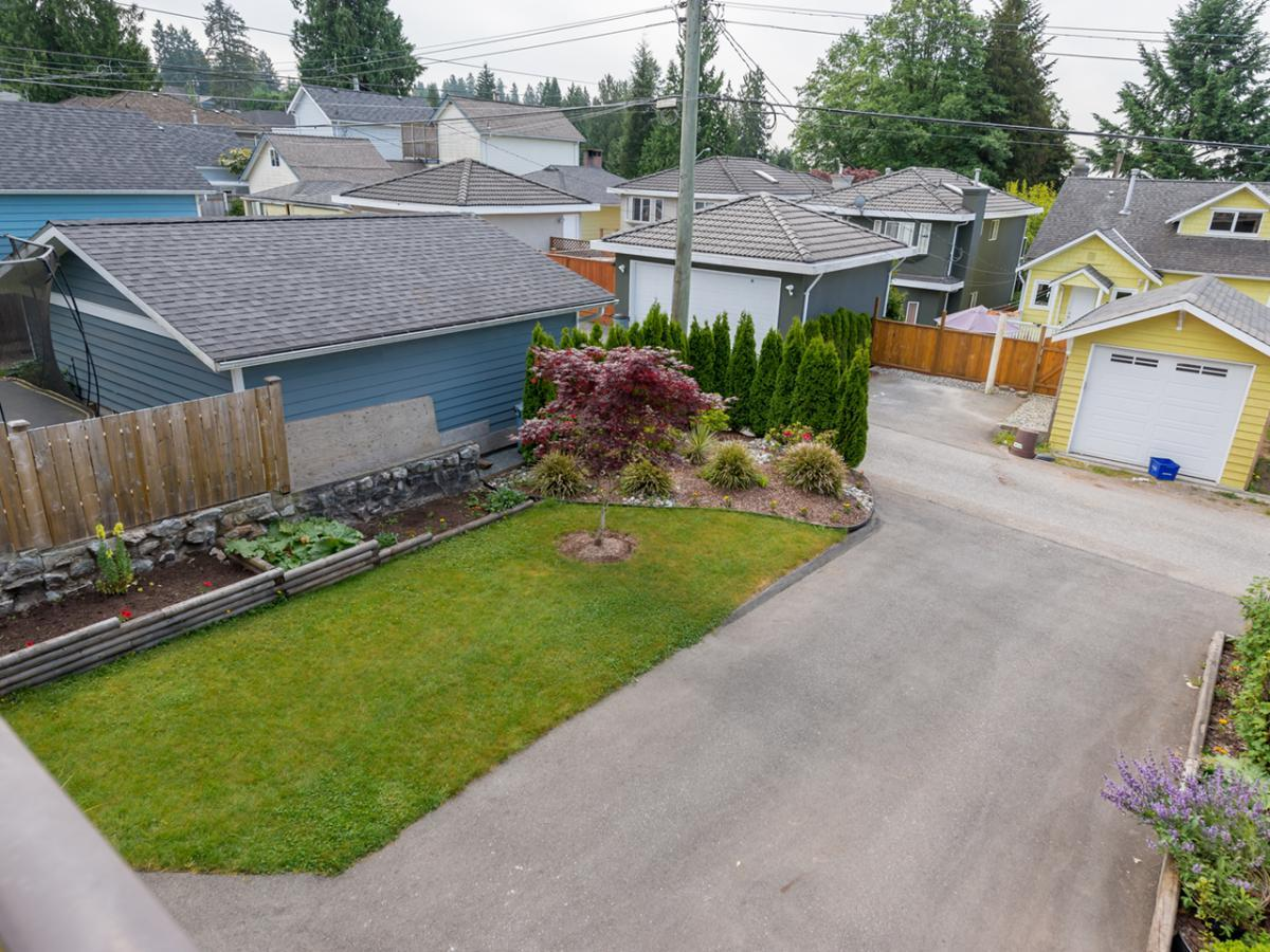 Rear Yard / Driveway at 233 East 28th Street, Upper Lonsdale, North Vancouver