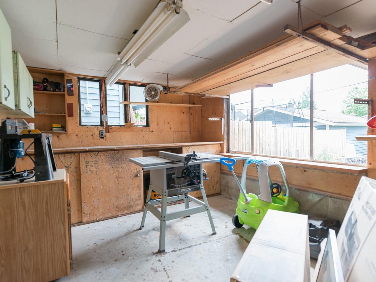 Attached Workshop at 233 East 28th Street, Upper Lonsdale, North Vancouver
