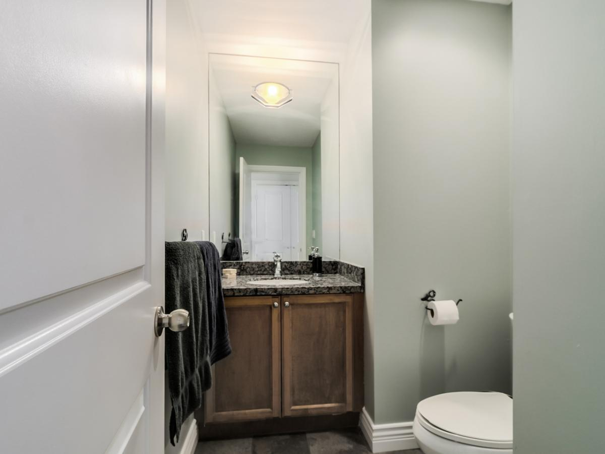 Main Floor Bathroom at 240 East 21st Street, Central Lonsdale, North Vancouver