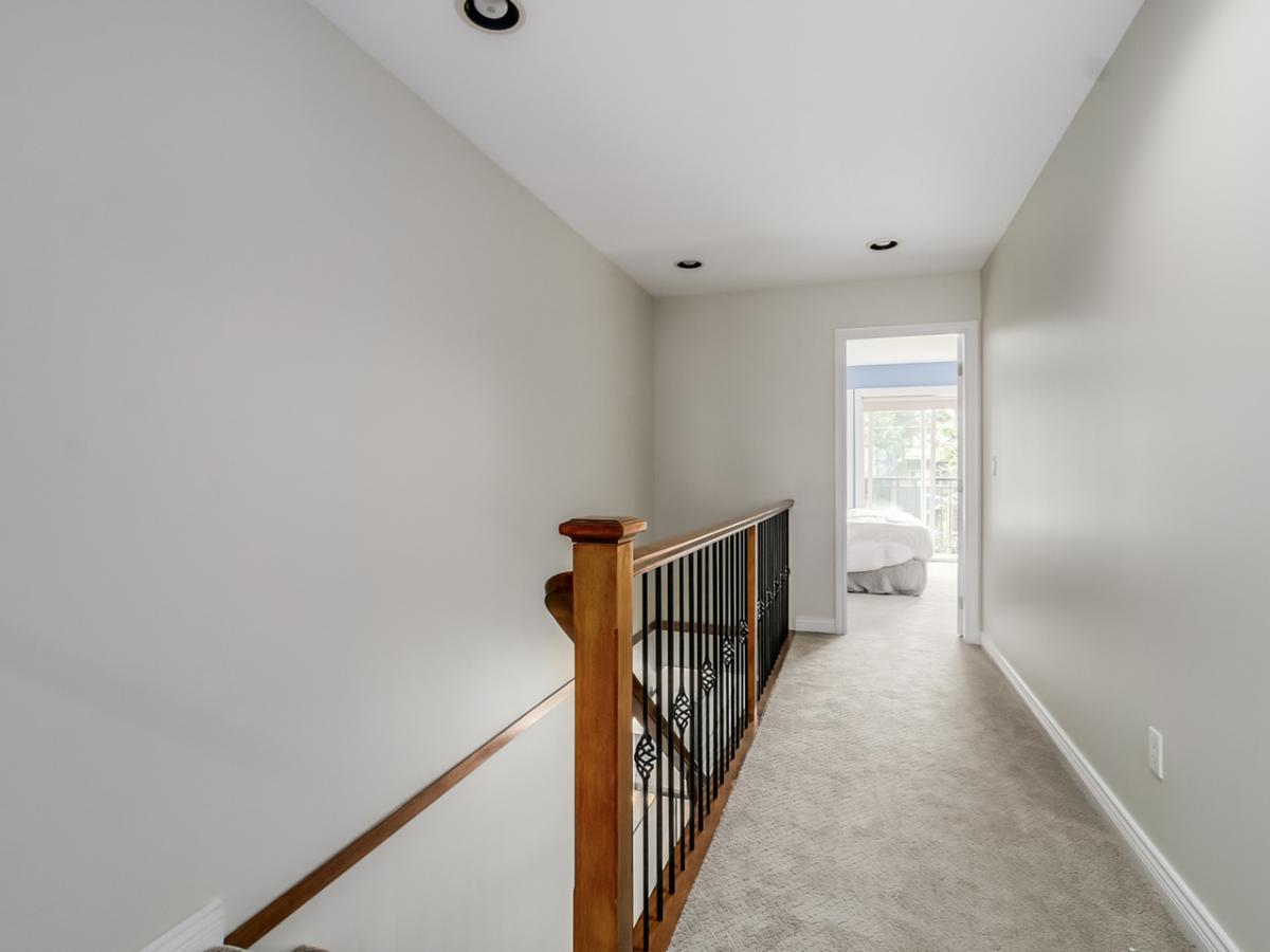 Upstairs Landing at 240 East 21st Street, Central Lonsdale, North Vancouver