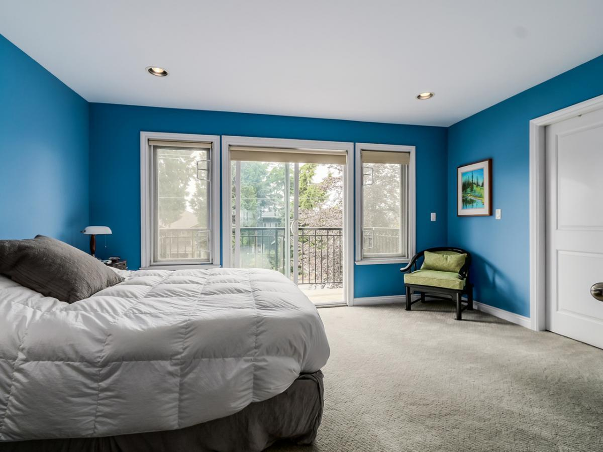 Master Bedroom at 240 East 21st Street, Central Lonsdale, North Vancouver
