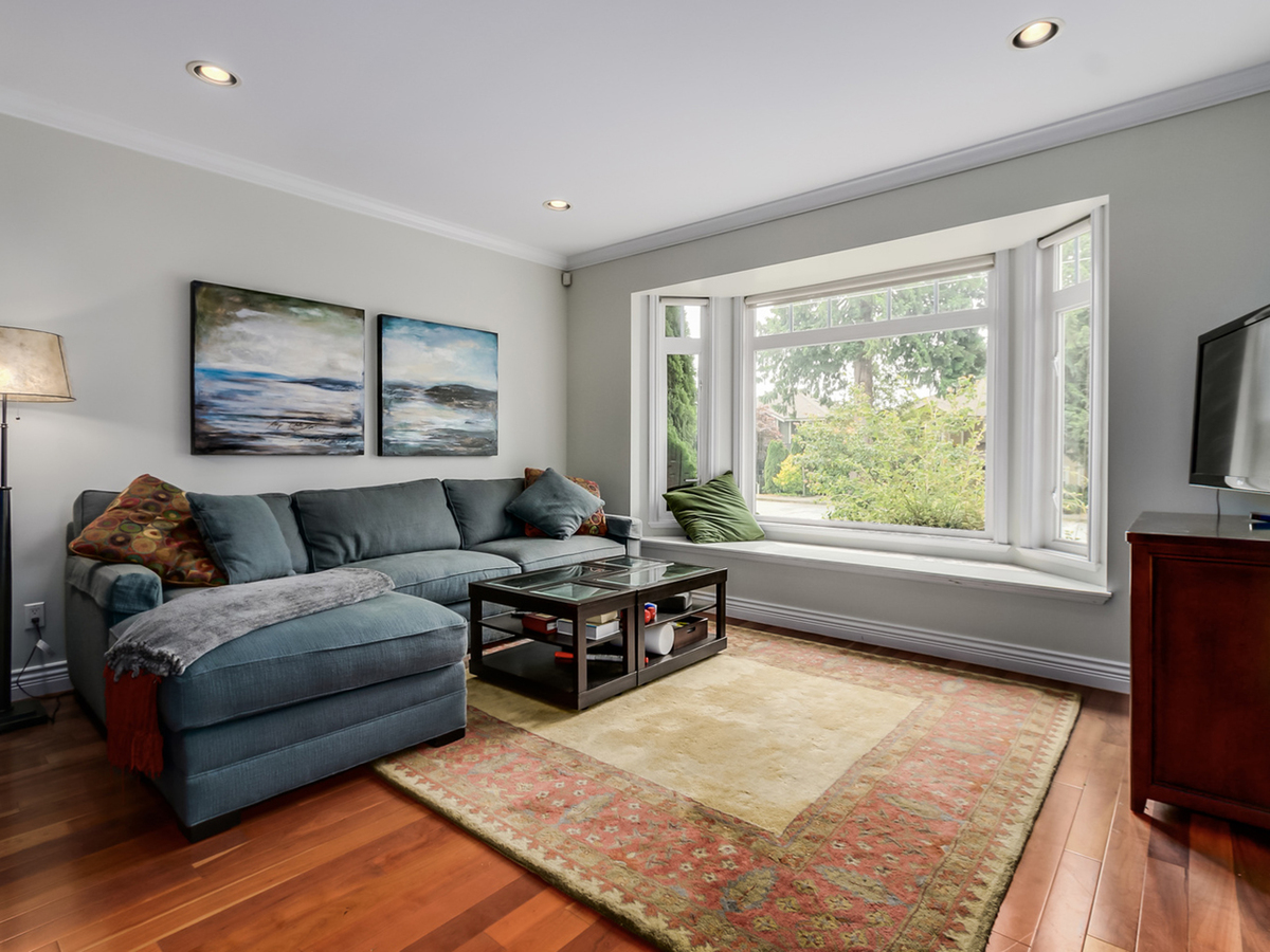 Living Room at 240 East 21st Street, Central Lonsdale, North Vancouver