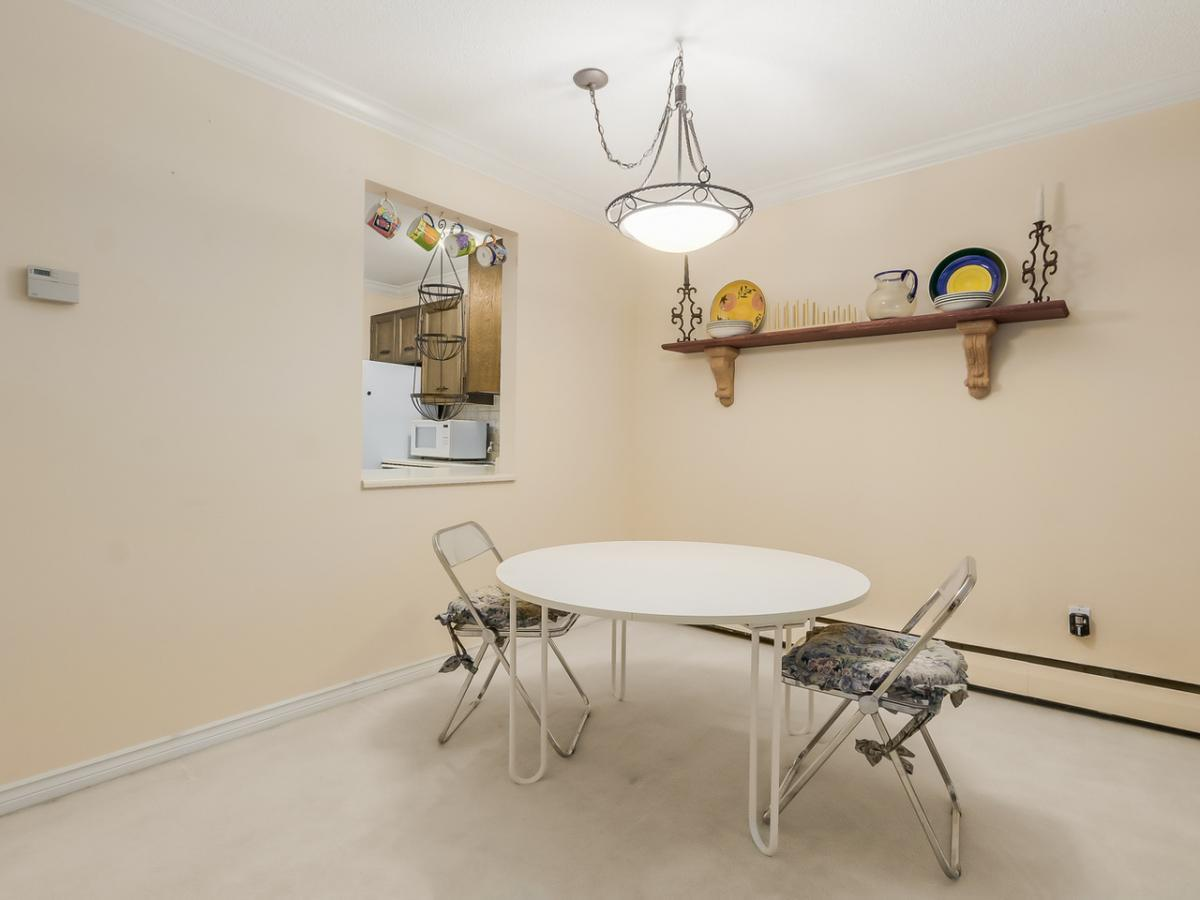 Dining Area at 106 - 1710 W 13th Avenue, Fairview VW, Vancouver West
