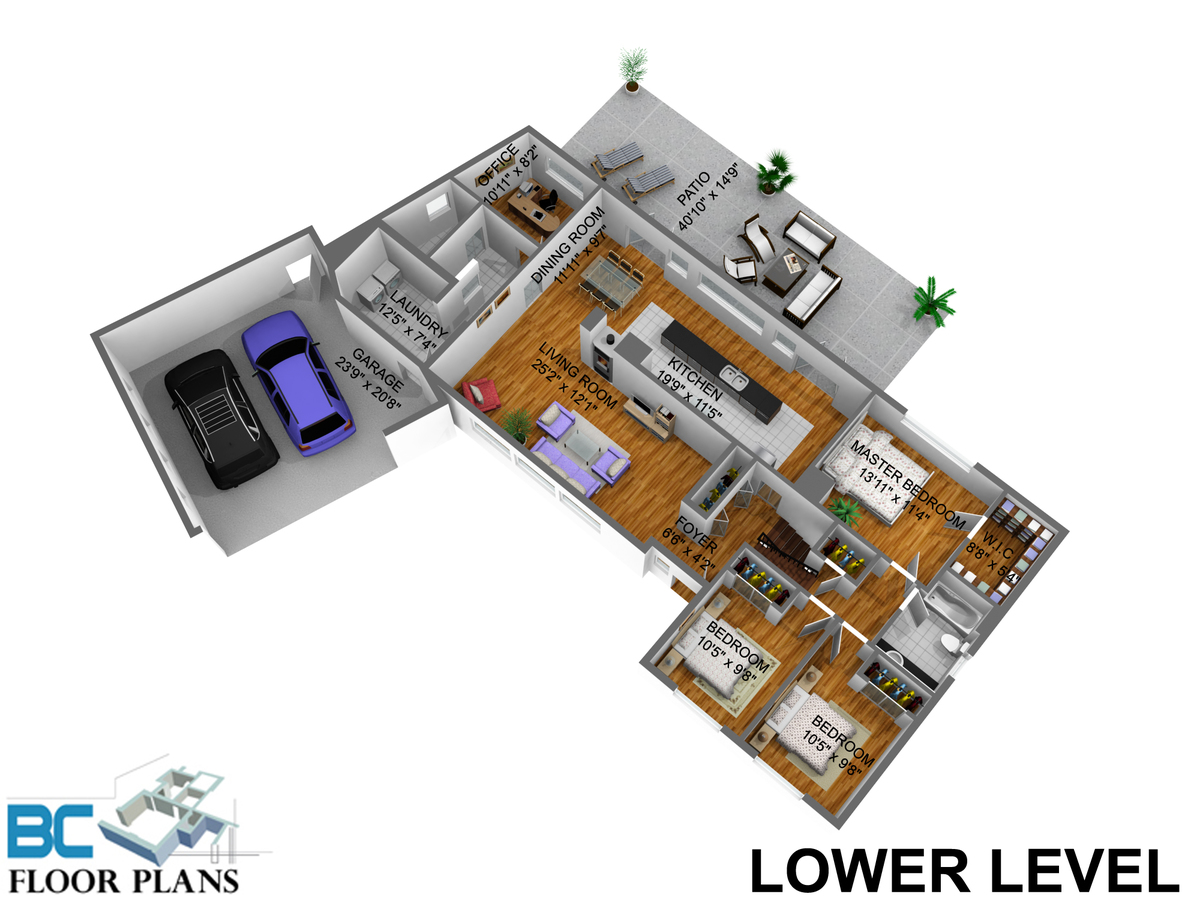 main-level-dim at 4482 Ruskin Place, Forest Hills NV, North Vancouver