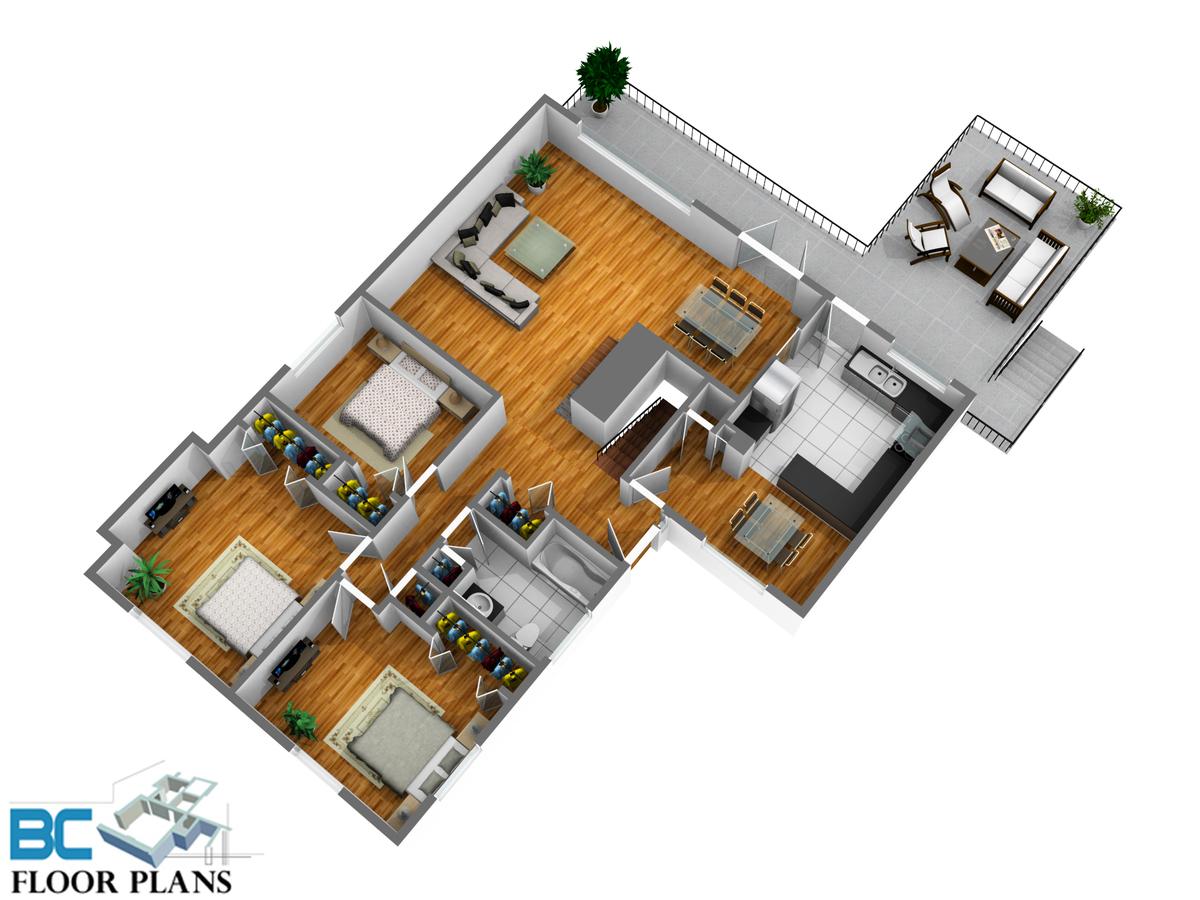 1243-w20-st-nvan-main-level at 1243 W 20th Street, Pemberton Heights, North Vancouver