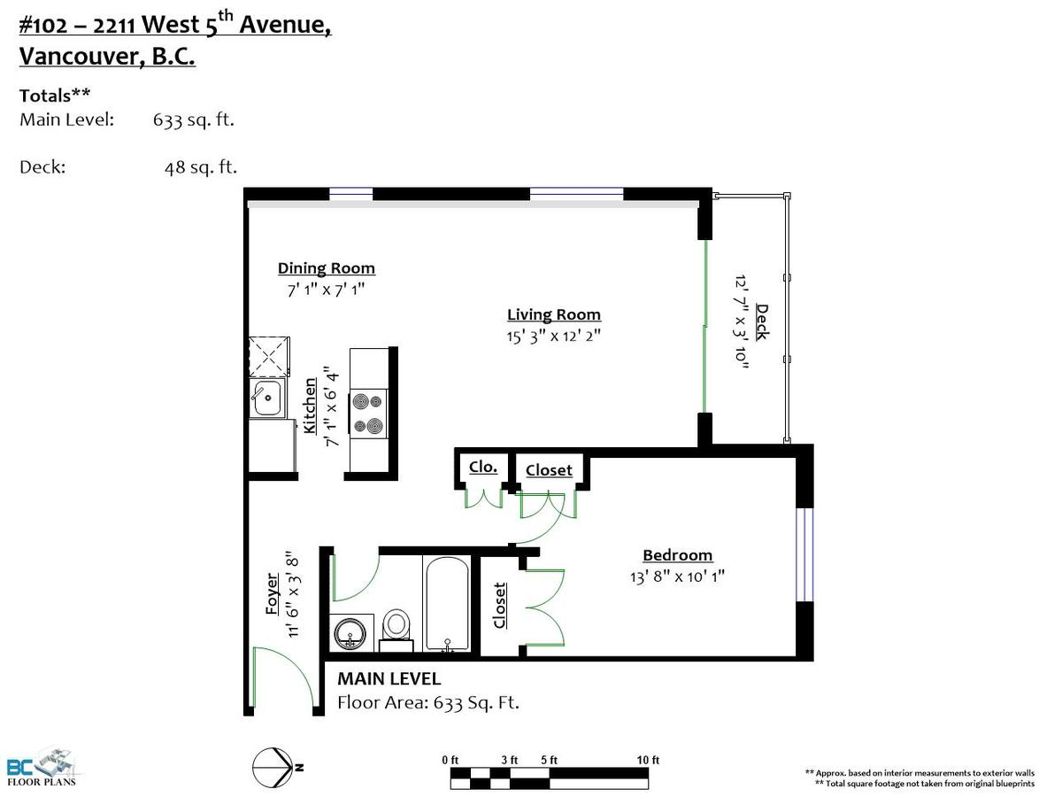 floorplan-102-2211-west-5th-avenue-vancouver at 102 - 2211 W 5th Avenue, Kitsilano, Vancouver West