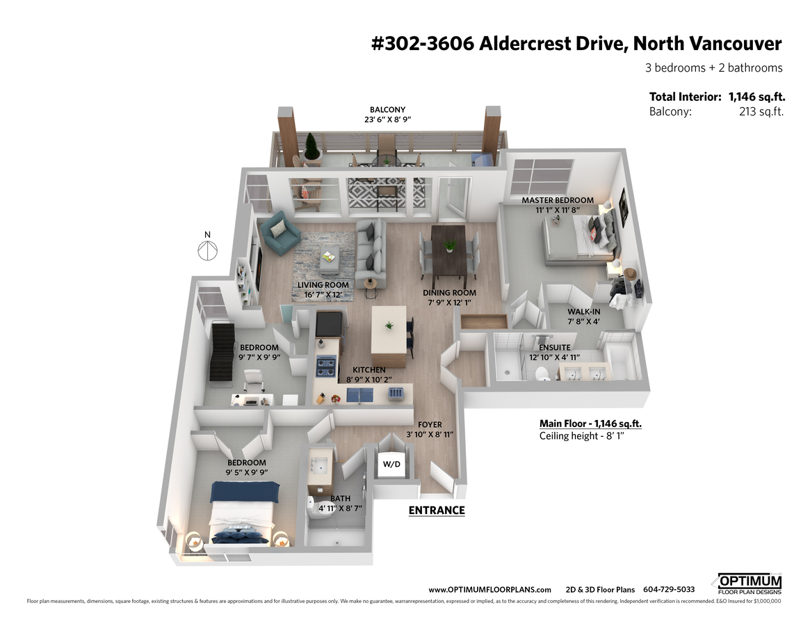 302_3606_aldercrest_drive_3d_mls at 302 - 3606 Aldercrest Drive, Roche Point, North Vancouver
