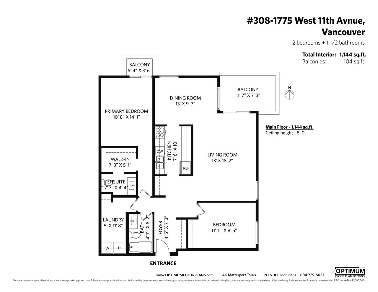 308_1775_west_11th_avenue_mls at 308 - 1775 W 11th Avenue, Fairview VW, Vancouver West