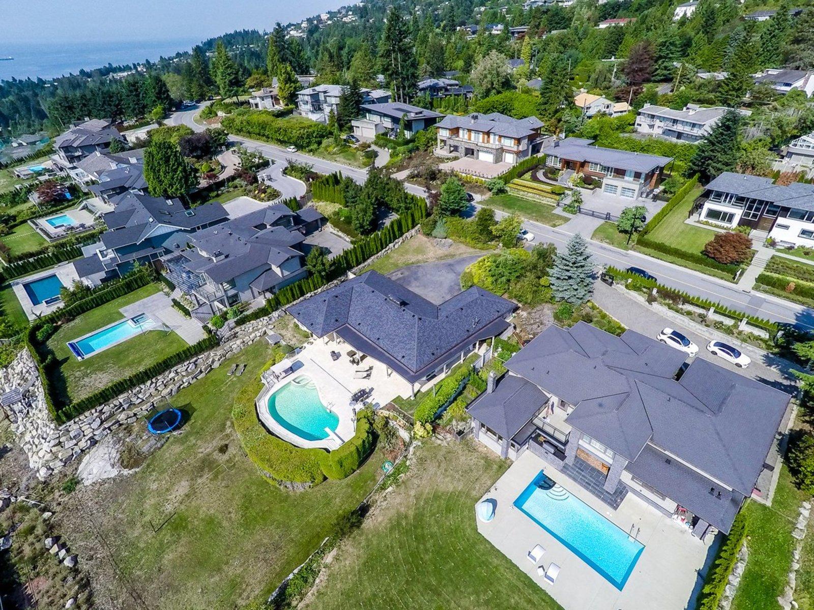 aerial-1-mls at 1002 Eyremount Drive, British Properties, West Vancouver